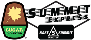 Summit Express - A six passenger, high speed detachable lift. Base to Summit in 5 minutes!