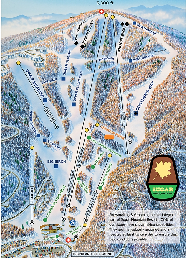 Sugar Mountain Resort's Slopes and Trails