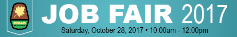 2017 Job Fair Banner for Employment Page